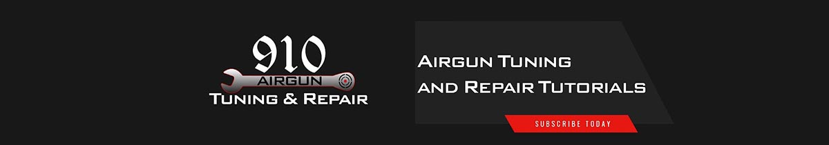 910 Airgun Tuning and Repairs Channel Header